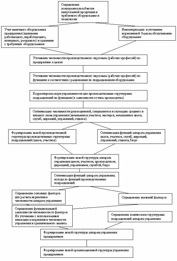 Схемы организационная структура.